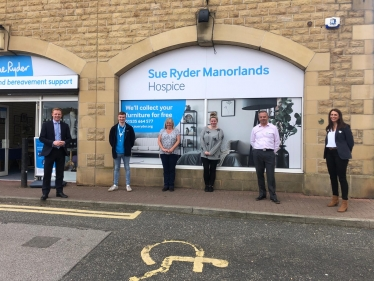 Sue Ryder store opening